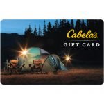 $50 Cabela's Gift Card – $42.50 SOLD OUT