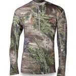 Llano 1/4 Zip Lightweight Merino Wool Shirt by First Lite- $71.50