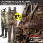 Lacrosse Boots & Waders Sale at Field Supply- ends 8/14