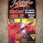 Rage 3-Blade Chisel Tip slipcam Broadheads- $22.99