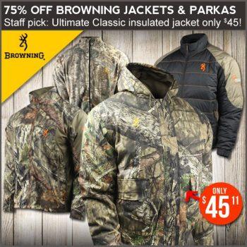 hunting jacket sale