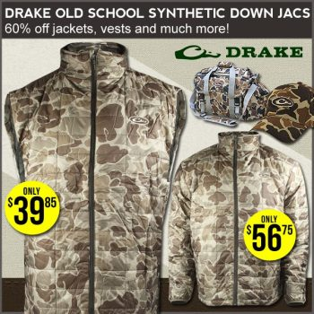 Drake Old School Camo Sale At Field Supply Ends 40406 Hunting Gear Stunning Old School Camo Pattern