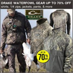 Drake waterfowl discounts