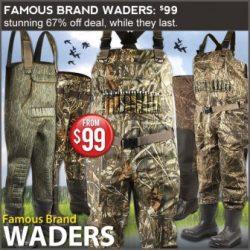 discount waders