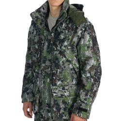 Gore tex camo rain jacket