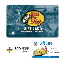 Free $20 Gas Card with $100 Bass Pro Shop Gift Card ...