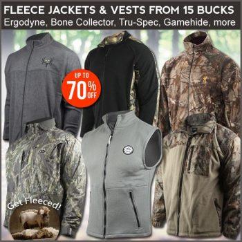 fleece hunting jacket