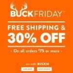 30% Off + Free Shipping at Legendary Whitetails- Ends 11/28