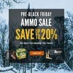 Cabela's Holiday Ammunition Sale- Ends 11/23