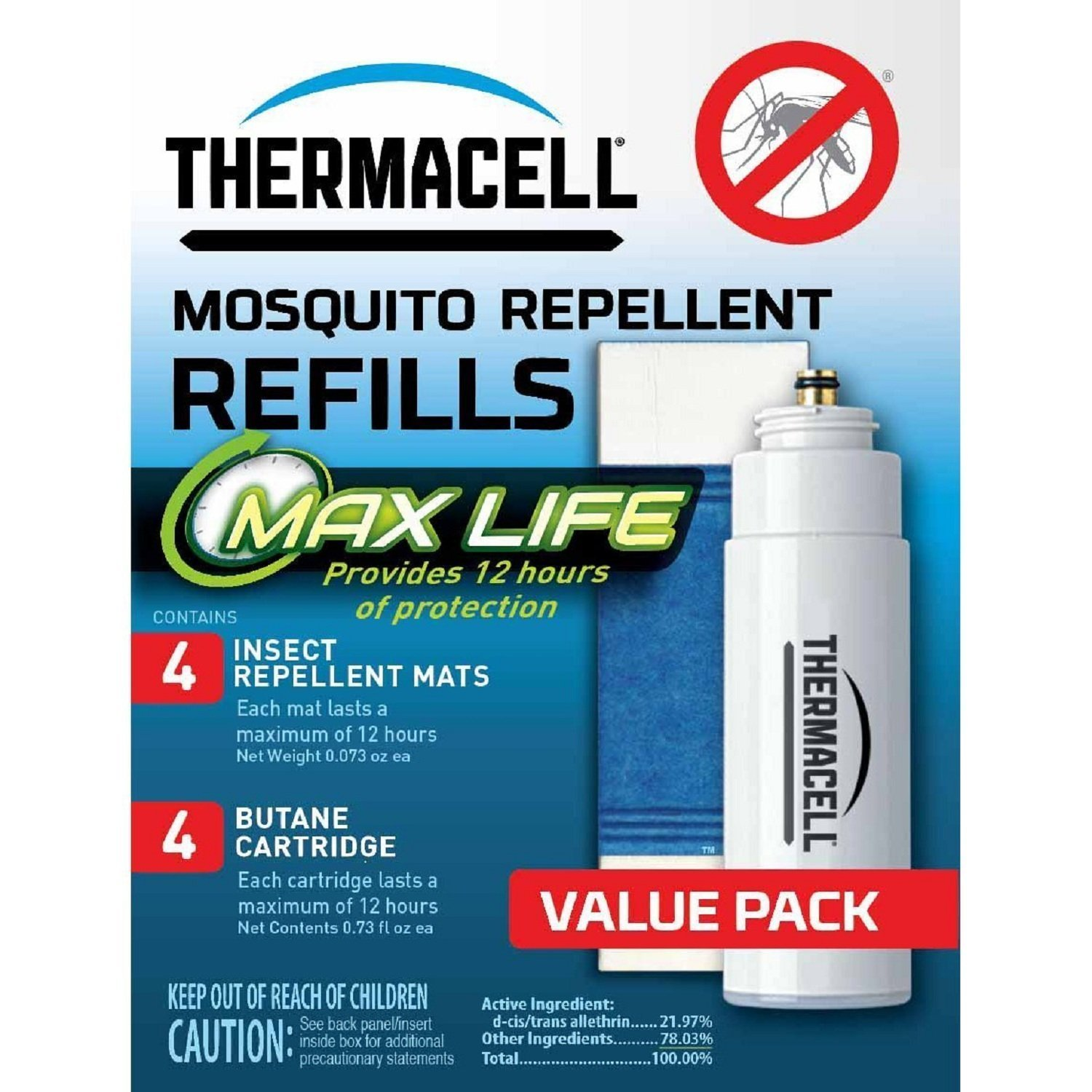 max life thermacell refills
