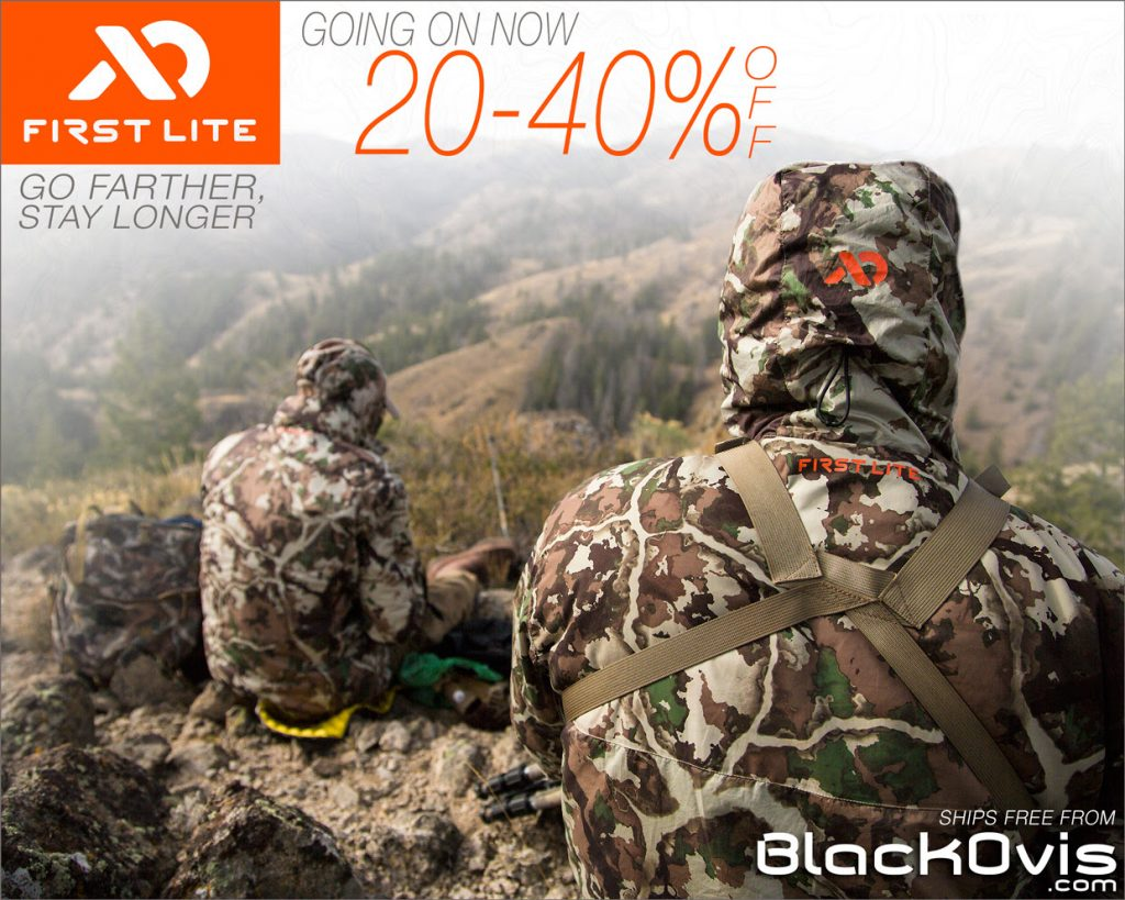 c9d37af6e5dc5 First Lite Tag Soup Sale at Black Ovis- 20%-40% Off Everything - Hunting  Gear Deals