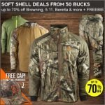 Up to 70% Off Hunting Jackets + Free Shipping & Gift- Ends 2/17
