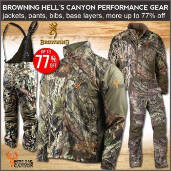 hunting gear deals