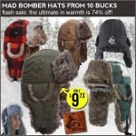 Mad Bomber Hats Under $10 at Field Supply- Ends 3/12