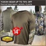 Yukon Gear Hunting Apparel Sale at Field Supply- Ends 1/13