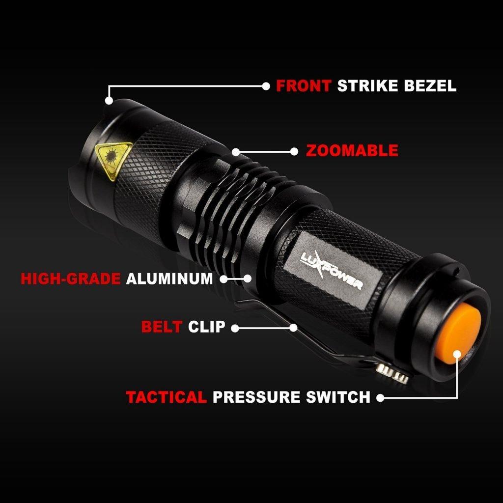 hunting flashlight 2-pack
