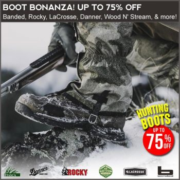 discount hunting boots