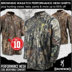 browning wasatch on sale at field supply