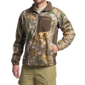 camo fleece shirt