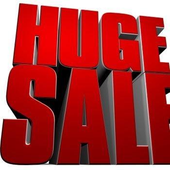 huge ebay discount sale