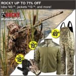 Rocky Boots Outdoor Wear on Sale at Field Supply- Ends 3/13