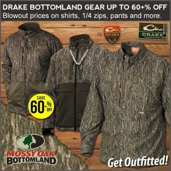 drake mossy oak bottomland camo