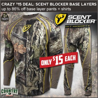 hunting base layer sale