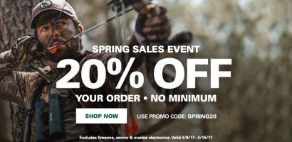 How to Use Gander Outdoors Coupons: If you have a promotional code, you will be able to enter this right in your cart. Please enter this code in the box where it says