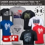 Under Armour Freedom Tee's on Sale at Field Supply- Ends 11/12