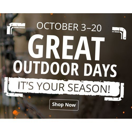 cabela's great door days sale
