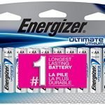 12 Energizer Ultimate Lithium L91BP AA Batteries- Amazon Deal