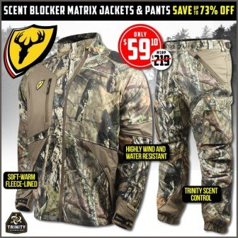 e04d4f37a52 Scent Blocker Matrix Jacket or Pants Mossy Oak Country-  59.10 ...