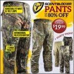 Scent Blocker Pants Under $20- Ends 6/15