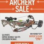 Sportsman's Guide Archery Supplies Sale- Free Shipping
