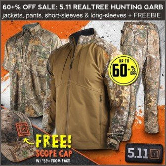 ebb1f2f9cf7 5.11 Hunting and Tactical Apparel Sale at Field Supply- Ends 11 3 ...