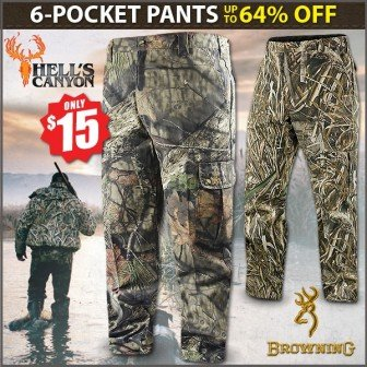 camo hunting pants discount