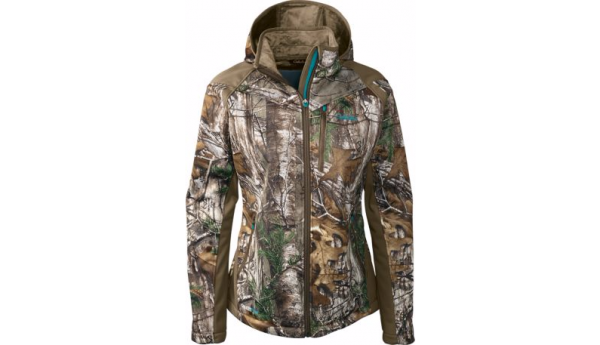 5c45609761279 The Cabela's OutfitHER Windproof Jacket in Realtree Xtra is on sale now  with 75% off. Originally priced at $99.99, this high quality jacket is not  only ...
