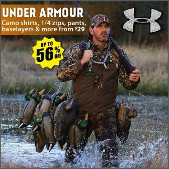 discount under armour hunting sale