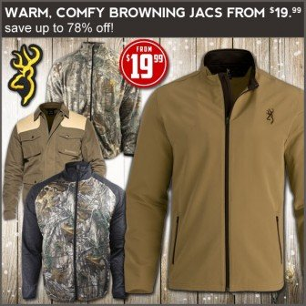 1d0f899113bd6 Browning camo hunting jackets are on sale at Field Supply with discounts up  to 78% off. There are lots of options to choose from with several styles  and ...