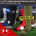 Under Armour Socks- 50% Off at Wing Supply – Ends 11/11