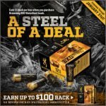 Browning BXD Waterfowl Shotgun Shell Sales and Rebate- Up to $100 Back