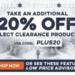 Legendary Whitetails Winter Whiteout Clearance Event + Extra 20% Off