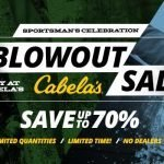 Cabela's Sportsman's Celebration Blowout Sale
