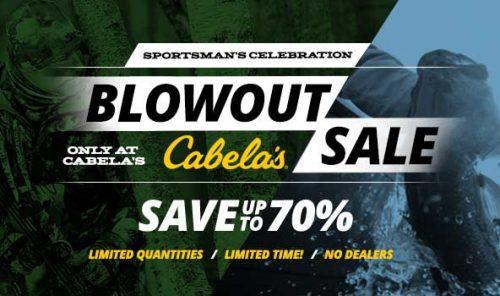 Cabela's clearance sale