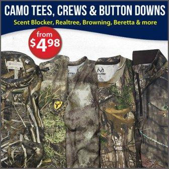 camouflage tee shirt sale