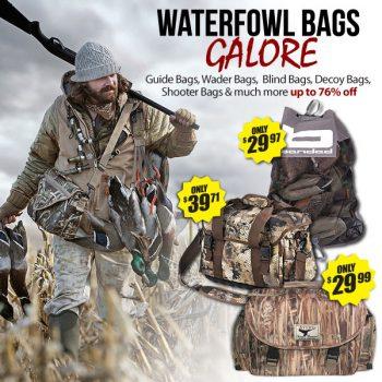Waterfowl discount sale