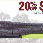 20% Off on Big Agnes at Black Ovis – Ends 10/14