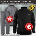 Casual Apparel from Scent Blocker, Under Armour & Browning on Sale at Field Supply – Ends 4/17/2018