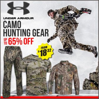 under armour hunting sale