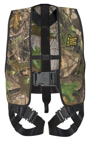 Youth safety harness treestand